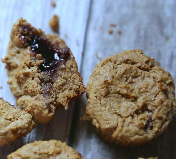 Peanut Butter and Jelly Muffins recipe 1