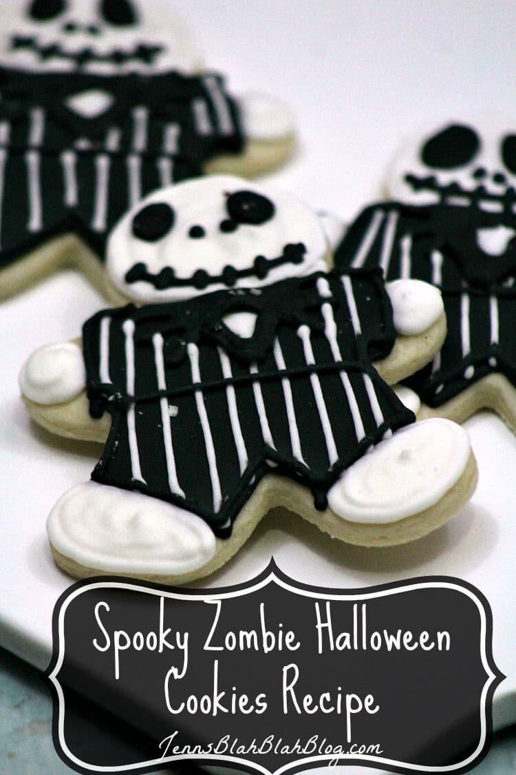 Spooky Zombie Halloween Cookies Recipe
