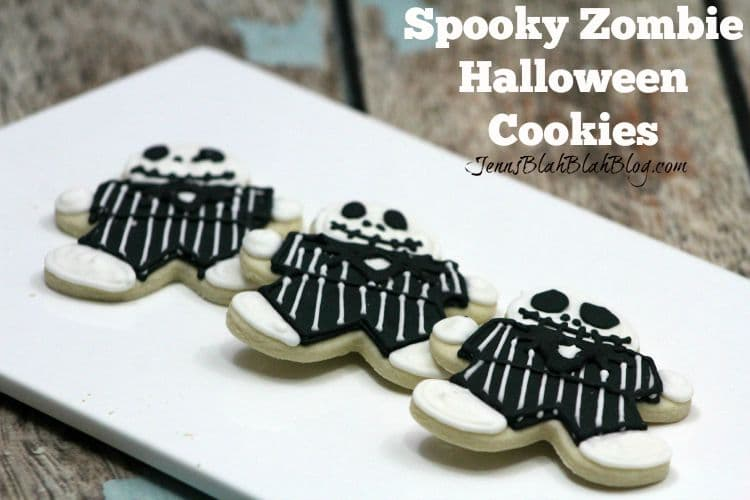 Spooky Zombie Halloween Cookies Recipe