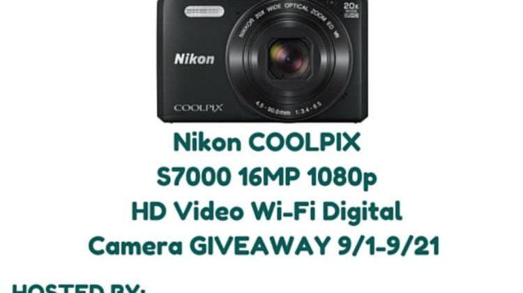 Buy Dig CoolPix Camera Giveaway