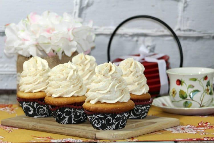 chia spiced cupcakes