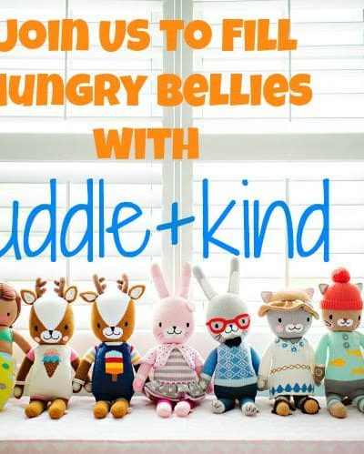 Join Us to Fill Hungry Bellies with cuddle+kind