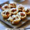 Mini Meatball Muffins & Bacon Wrapped Mozzarella Sticks