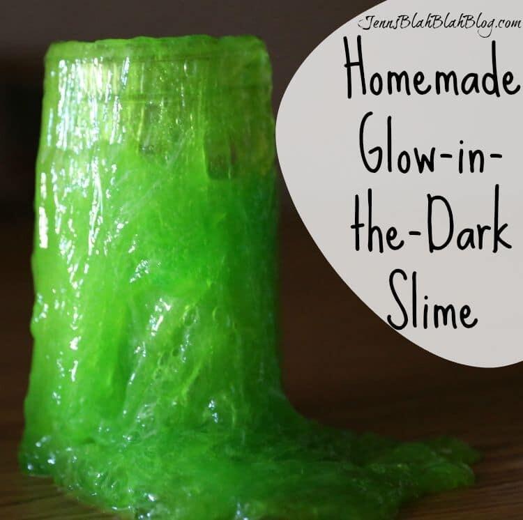 Homemade Glow-in-the-Dark Slime Recipe