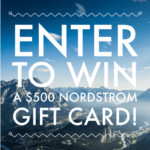 $500 Nordstrom Gift Card Giveaway