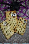 Halloween Mummy Pumpkin Pop Tarts Recipe