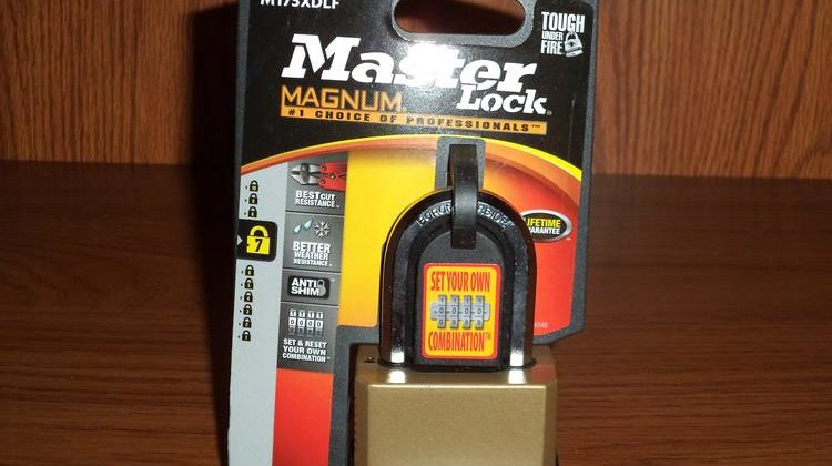 Tough Under Fire™ with Master Lock