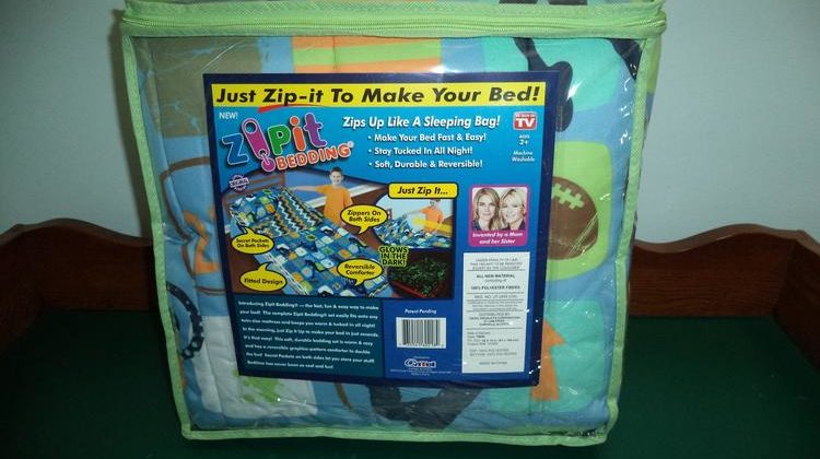 Make your Bed in Seconds with Zipit Bedding