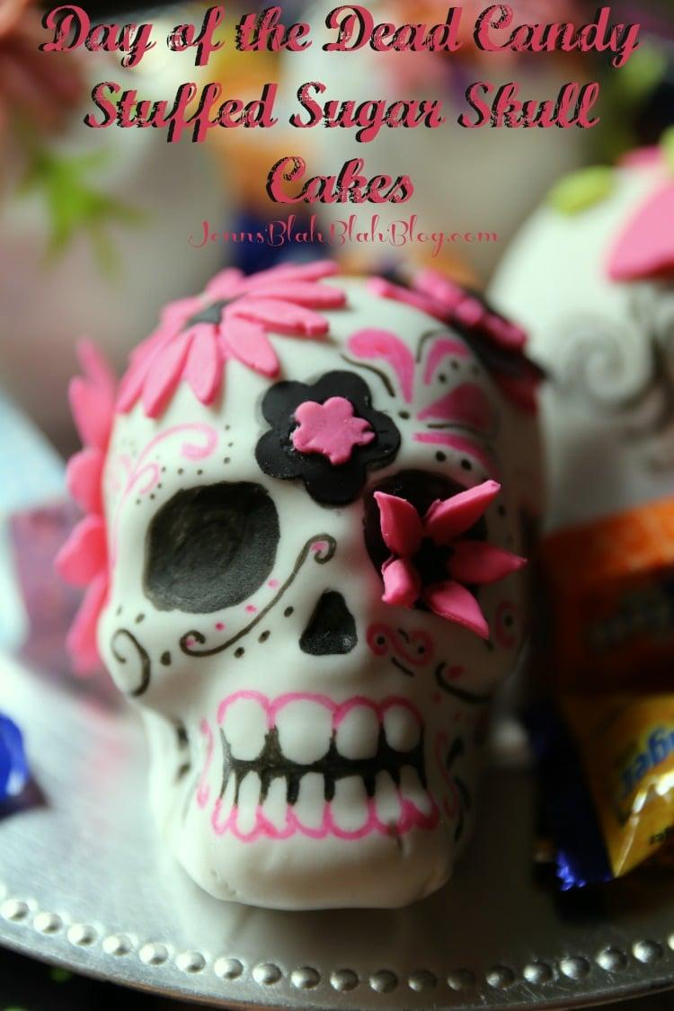 Simple Day Of The Dead Cake