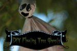 Easy DIY Floating Tree Ghosts for Halloween