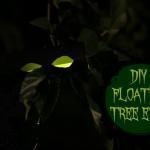 Easy DIY Floating Tree Eyes for Halloween