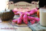 Easy Pink Cinnamon Ribbons for Pink October