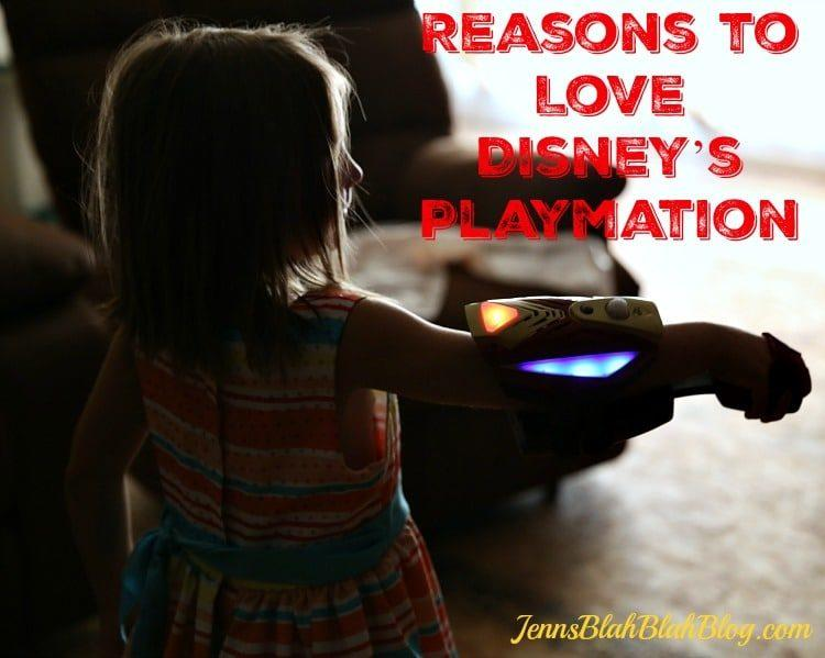 Reasons to love Disney Playmation game