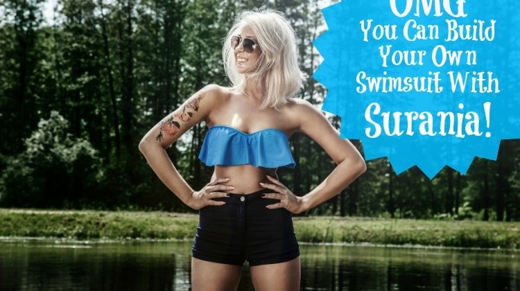 OMG, You Can Build Your Own Swimsuit With Surania!