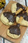 Witches Broom Peanut Butter Halloween Cookies recipe