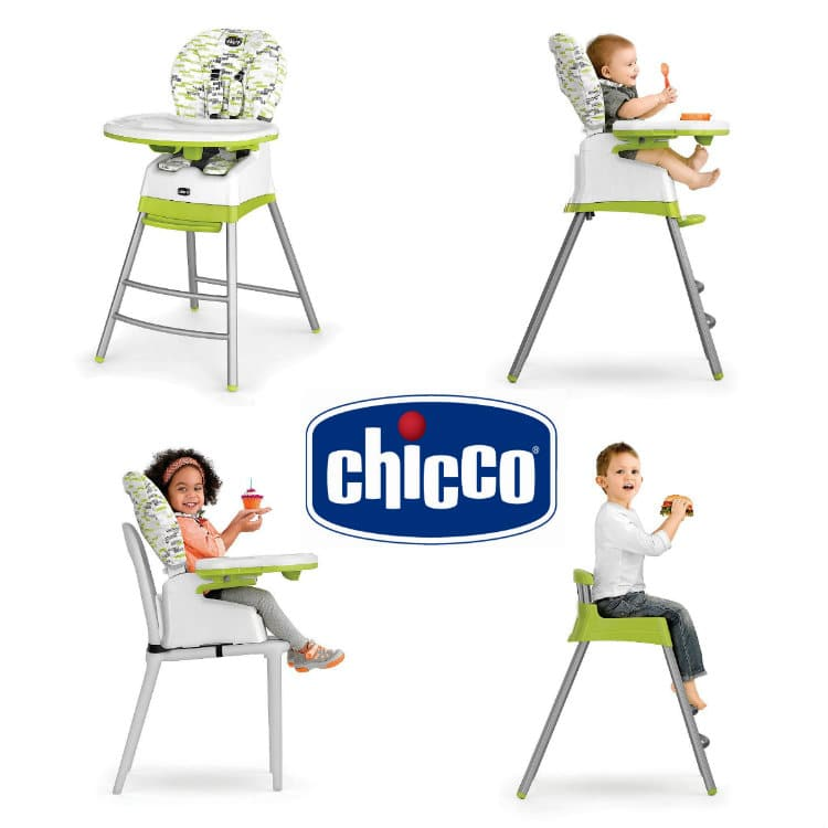 The Chicco Stack 3 In 1 High Chair Is All You Ll Need