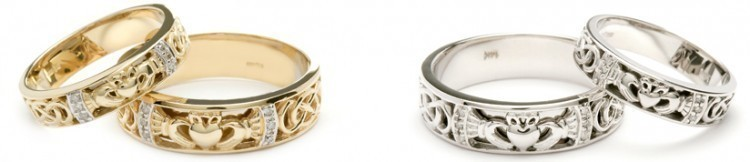 claddagh-wedding-ring-sets