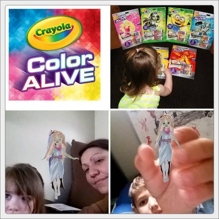 color alive collage