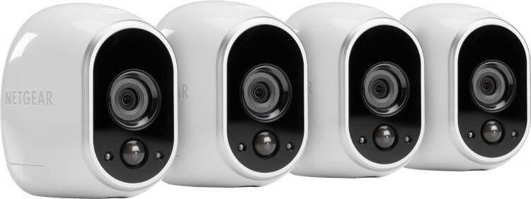 NETGEAR Arlo Smart Home VMS3430-100NAS security cameras