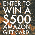 $500 Amazon Gift Card or Cash (via Paypal)