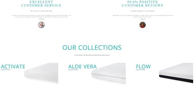 Bedding Stock Affordable, Quality Gel Memory Foam Mattresse