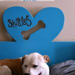 DIY Dog Bed + Rehab Project with Valspar® Furniture Paint