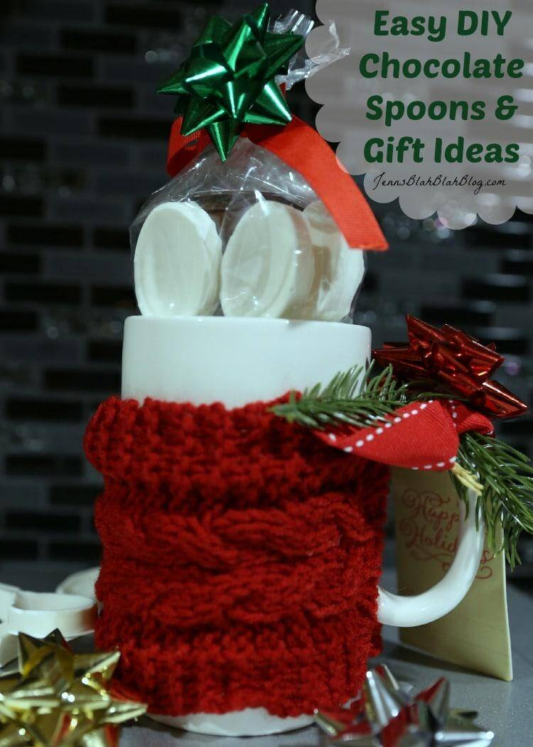 Easy DIY Chocolate Spoons & Gift Ideas Crafts