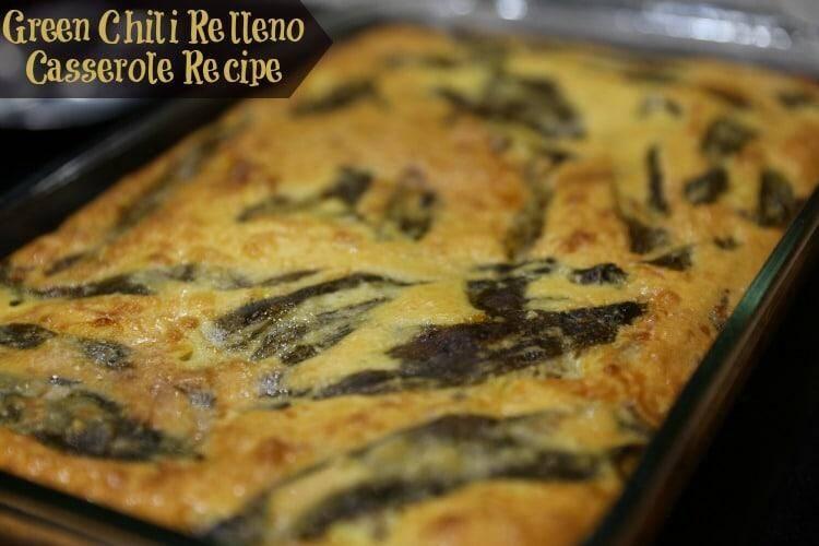 Green Chili Relleno Casserole Recipe.