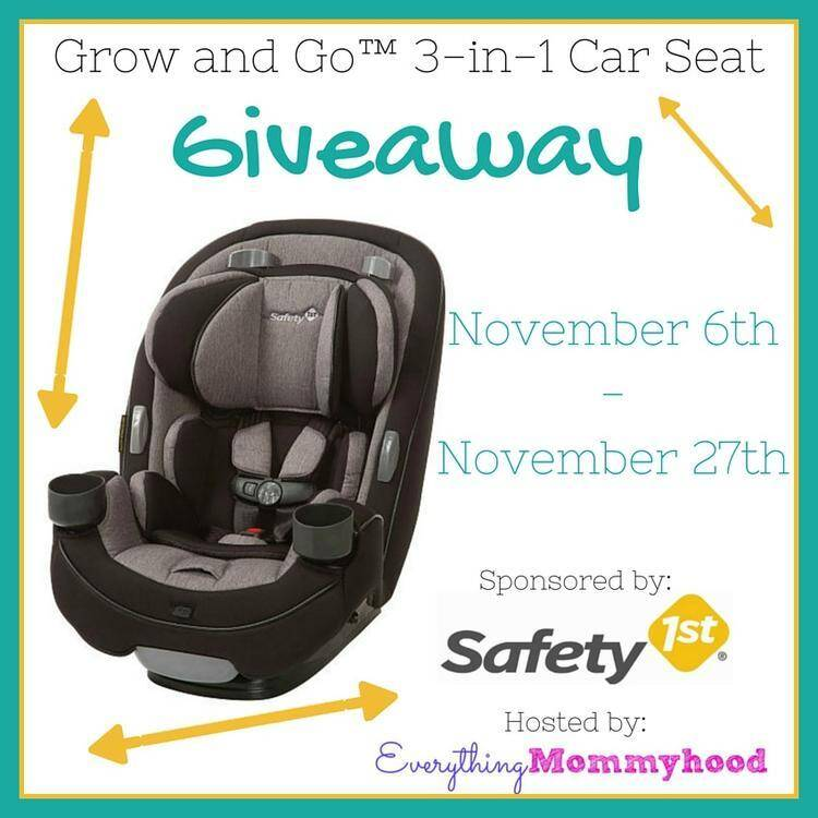 safety 1st grow and go 3 in 1 convertible car seat giveaway jenns blah blah blog tips. Black Bedroom Furniture Sets. Home Design Ideas
