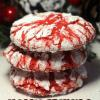 Super Yummy Holly Red Crinkle Cookie Recipe