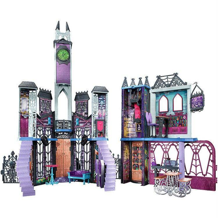 Monster High Deadlux High School Playset