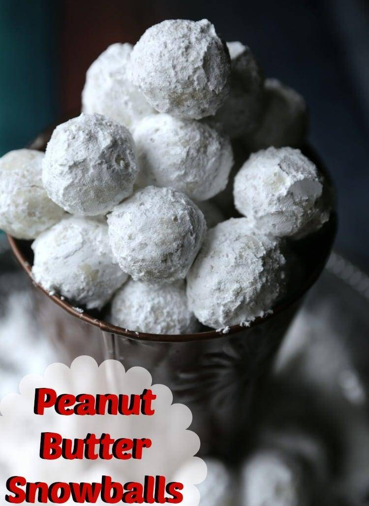 Peanut Butter Snowballs recipe