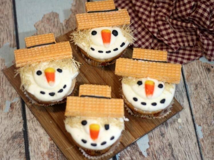Scarecrow Cupcakes Recipe Cute Cupcake Ideas