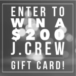 $200 J. Crew Gift Card Giveaway