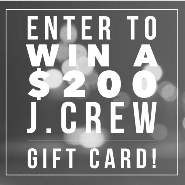 j crew giveaway button