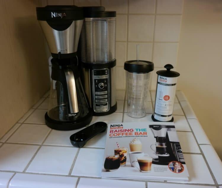 ninja coffee bar image counter