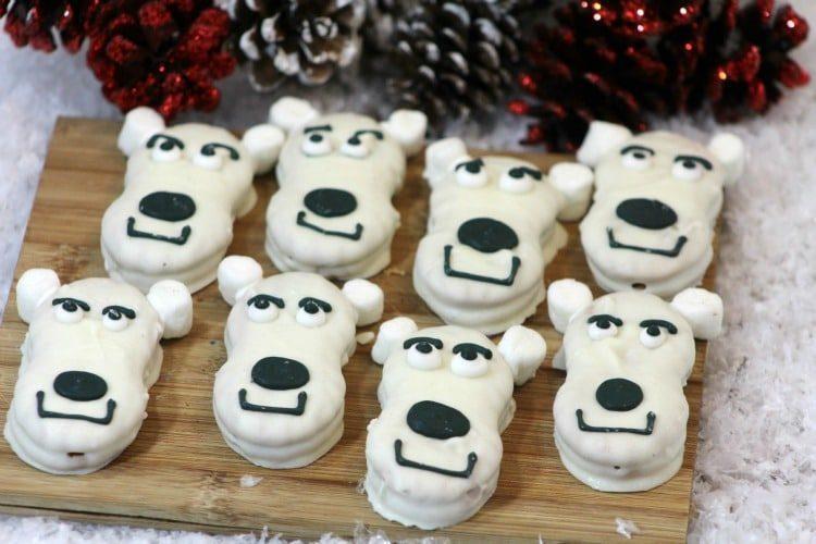 Polar Bear Cookies Recipe
