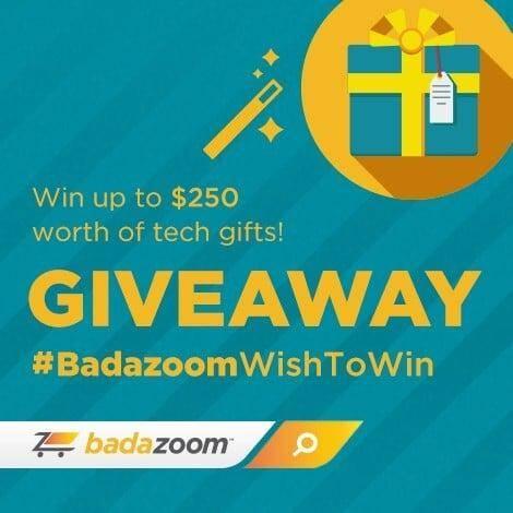 Badazoom $500 giveaway