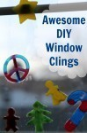 DIY Christmas Window Clings
