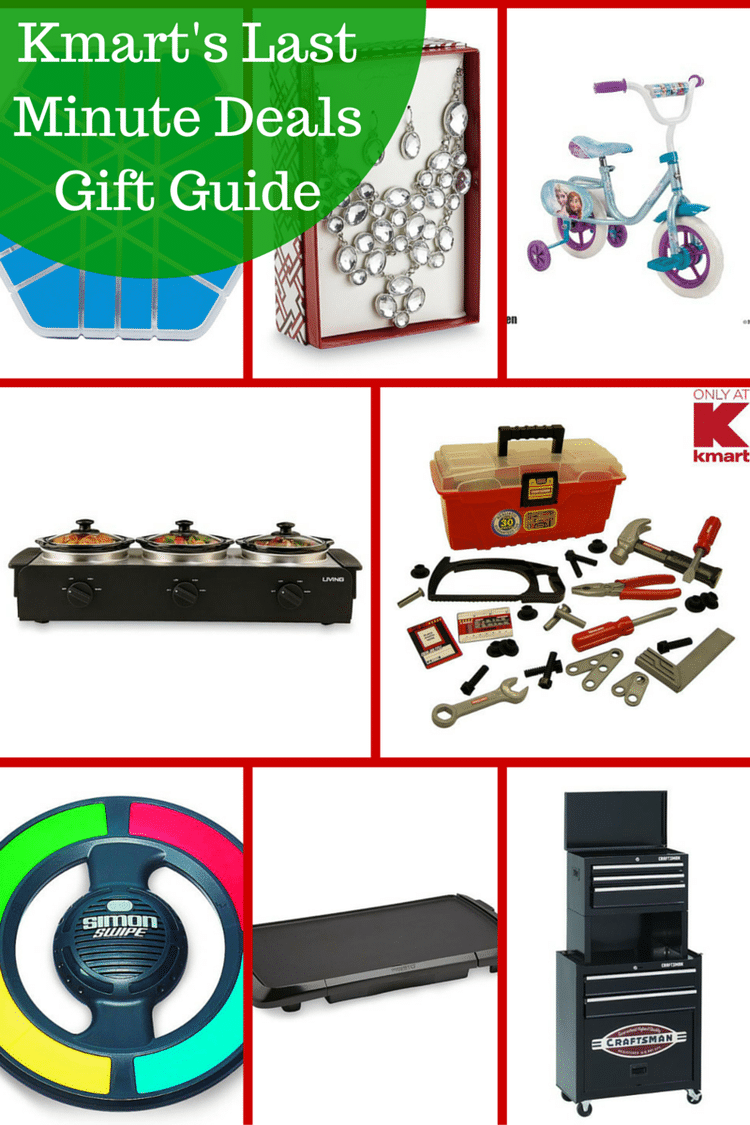 Kmart's Last Minute Deals and Gift Guide