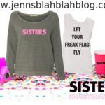 SISTERS Party Pack Giveaway