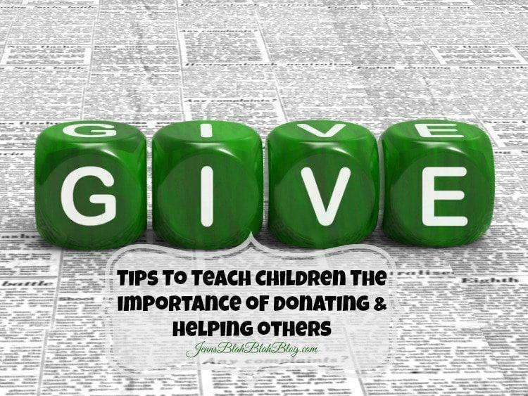 Tips To Teach Children The importance of donating & helping others