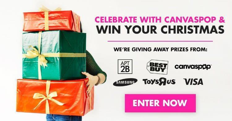 CanvasPop's Win Your Christmas Giveaway