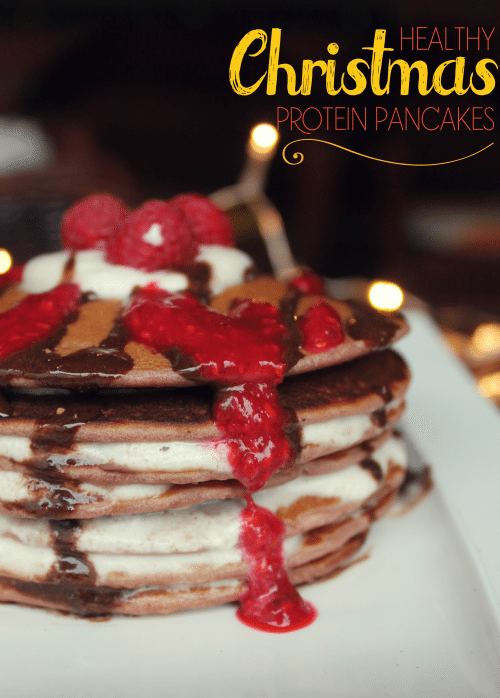 Healthy And Delicious Christmas Protein Pancakes Recipe 1