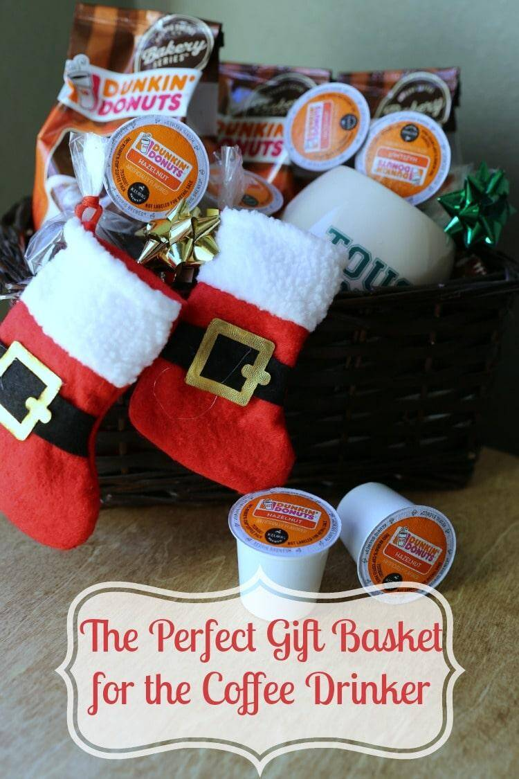 Gift Basket for the coffee drinker