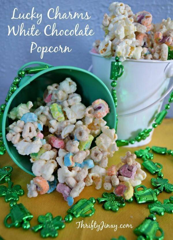 Lucky Charms White Chocolate Popcorn