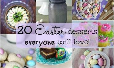 Deliciously Cute Easter Dessert Recipes Online