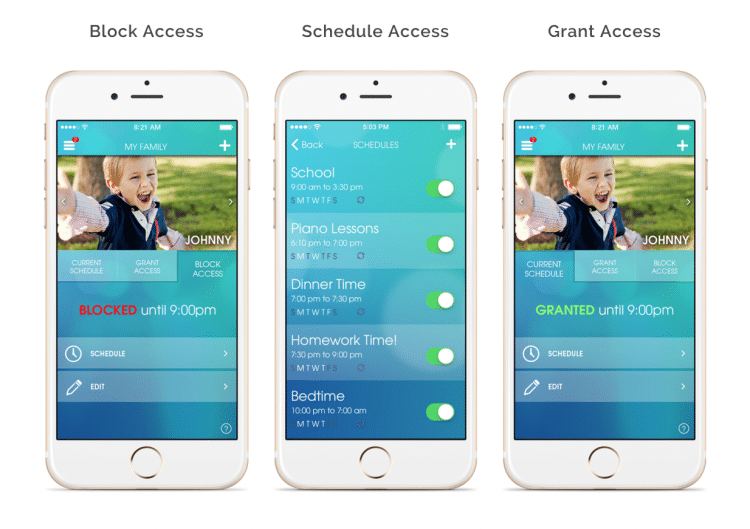 OurPact parental controls