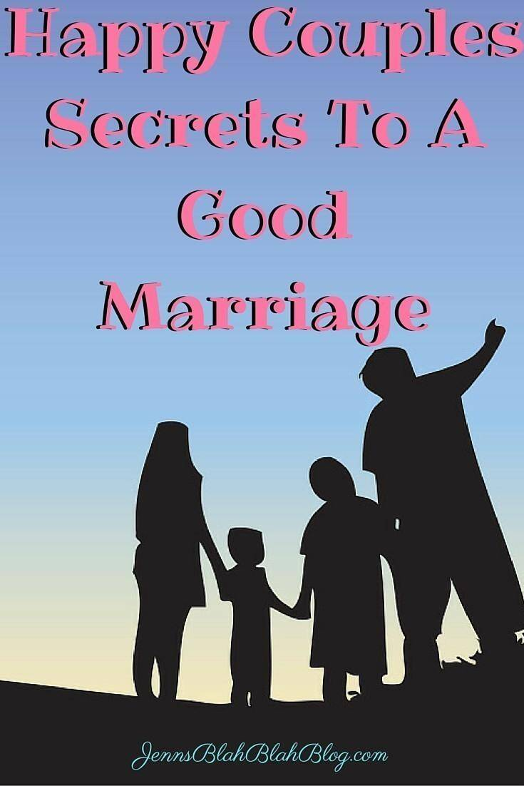 Happy Couples Secrets To A Good Marriage JBBB