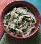 Green Chile Chicken Alfredo & Spinach Fettuccine with The Philips Pasta Maker